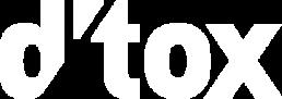 dtox logo hvit